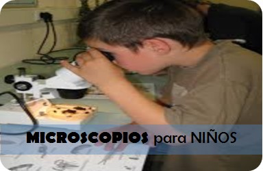 Microscopios para niños
