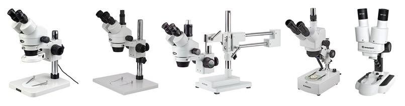 Microscopios estereoscópicos