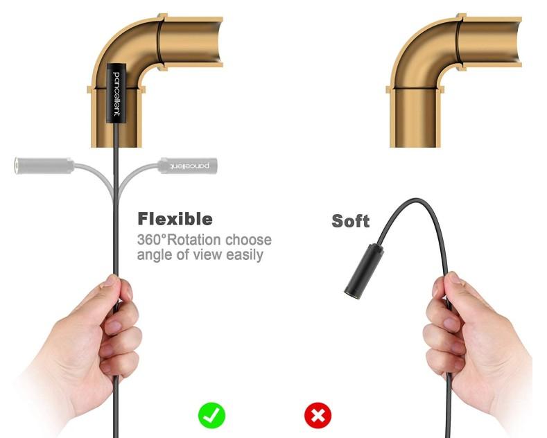 Flexibilidad cable