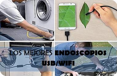 Los mejores endoscopios USB