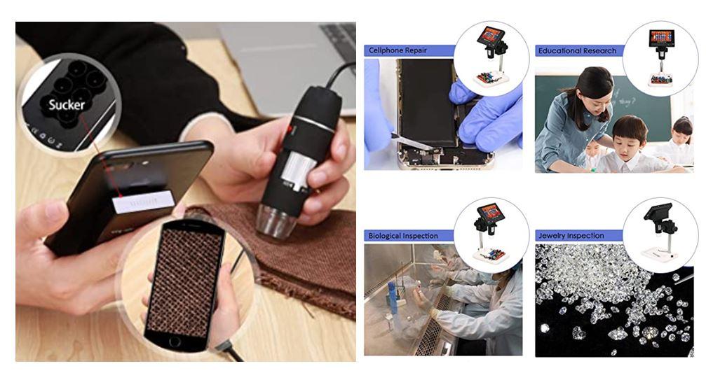 Funcionamiento microscopio para electrónica