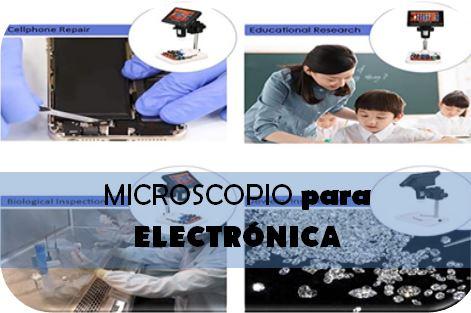 Microscopios para electrónica