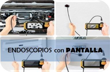 Los mejores endoscopios con pantalla